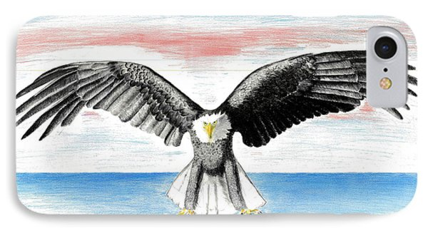 Bald Eagle IPhone Case by David Jackson