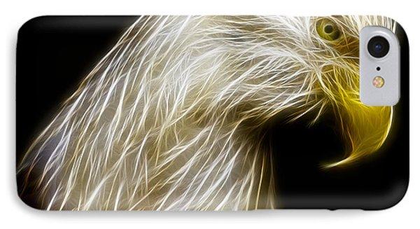 Bald Eagle Fractal Phone Case by Adam Romanowicz