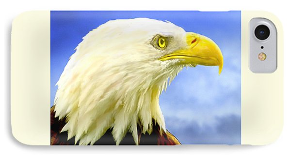 Bald Eagle Painting For Sale IPhone Case