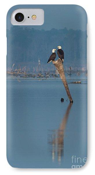Bald Eagle Pair IPhone Case