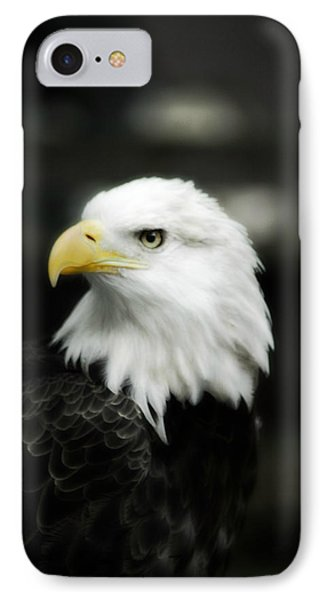 IPhone Case featuring the photograph Bald Eagle by Peggy Franz