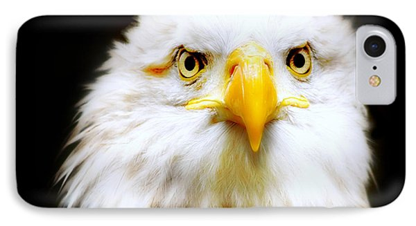 Bald Eagle IPhone Case by Jacky Gerritsen