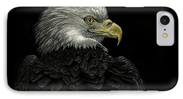 American Bald Eagle IPhone Case by Sandra LaFaut