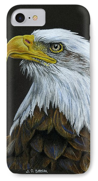 Bald Eagle IPhone Case by Sarah Batalka