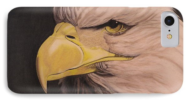 Bald Eagle Phone Case by Wil Golden