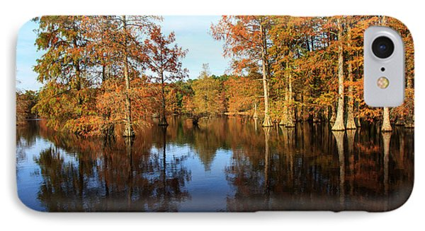 Baldcypress At Trap Pond IPhone Case