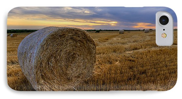 Baled IPhone Case by Scott Bean