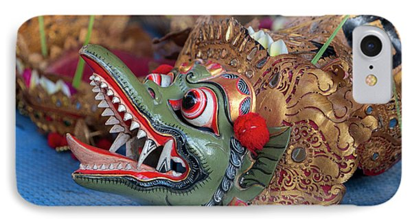 Bali, Indonesia Hindu Serpent, Kecak IPhone Case by Charles O. Cecil