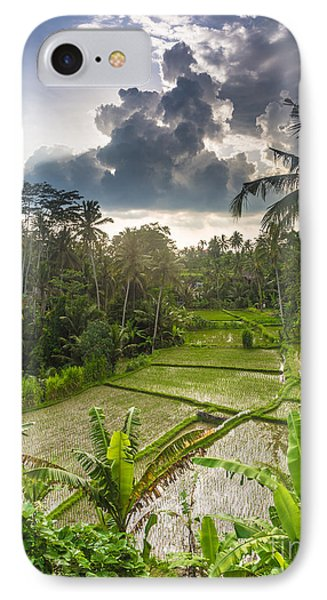 Bali Rice Terraces Phone Case by Didier Marti