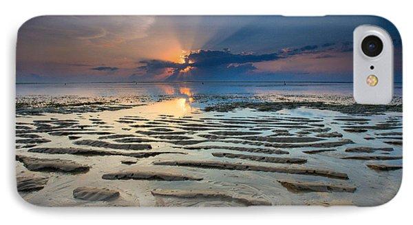 Bali Sunrise IPhone Case by Robert  Aycock