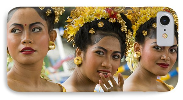 Balinese Dancers IPhone Case by David Smith