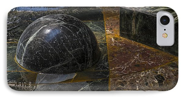 IPhone Case featuring the photograph Ball And Plant by Glenn DiPaola