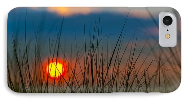 Ball Of Fire IPhone Case by Sebastian Musial