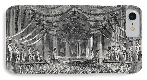 Ball Room Scene From Don Giovanni At Her Majestys Theatre IPhone Case