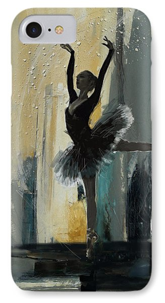Ballerina 18 IPhone Case by Mahnoor Shah