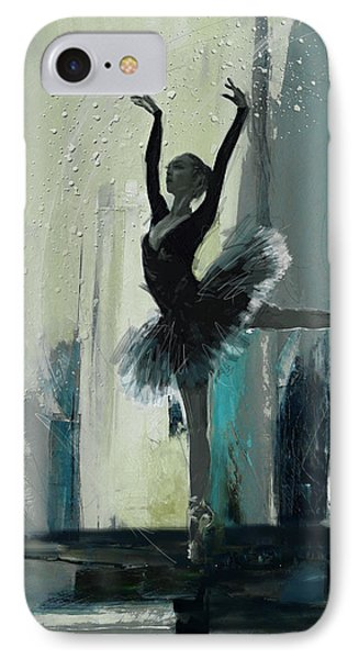 Ballerina 19 IPhone Case by Mahnoor Shah