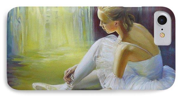 Ballerina Phone Case by Elena Oleniuc