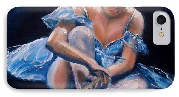 Ballerina II Phone Case by Donna Tuten