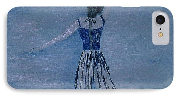 Ballerina Phone Case by Inge Lewis