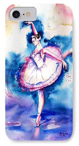 Ballerina IPhone Case by Isabel Salvador