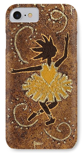 Ballerina Phone Case by Katherine Young-Beck
