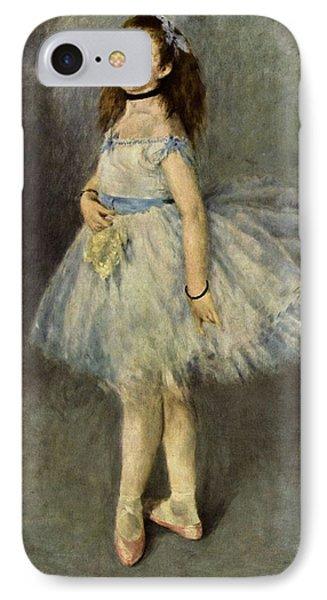 Ballerina IPhone Case by Pierre Auguste  Renoir