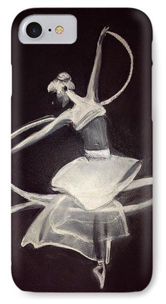 Ballerina IPhone Case by Renee Michelle Wenker