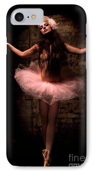 Ballerina IPhone Case by Tbone Oliver