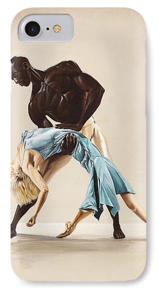 Ballet 1  Phone Case by Karen  Loughridge KLArt