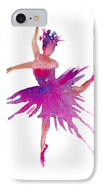 Ballet Arabesque IPhone Case