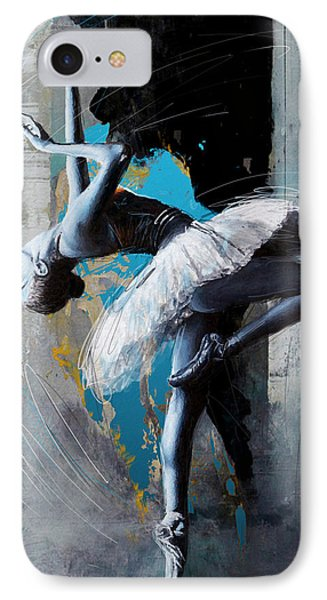 Ballet Dancer 15 IPhone Case by Mahnoor Shah