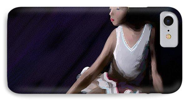 Ballet Dancer Phone Case by Michelle Wiarda