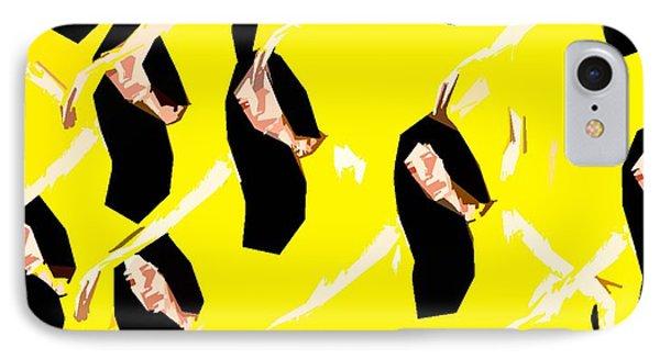 Ballet Dancers Phone Case by Patrick J Murphy