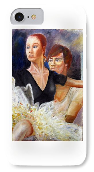 Ballet Dancers Rehearse For La Bayadere IPhone Case by Tom Conway