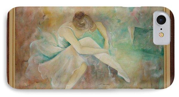 Ballet Dancers Phone Case by Ri Mo