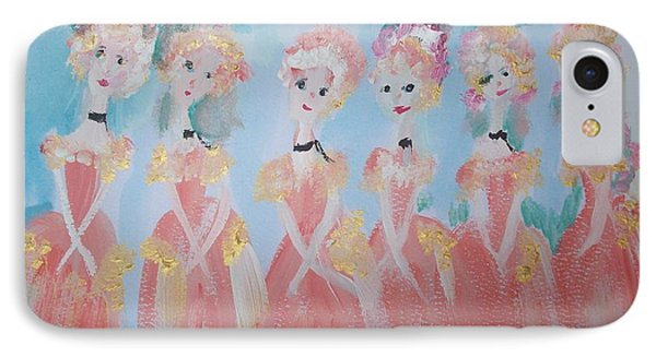 Ballet Group IPhone Case by Judith Desrosiers