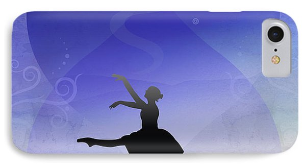 Ballet In Solitude  Phone Case by Bedros Awak