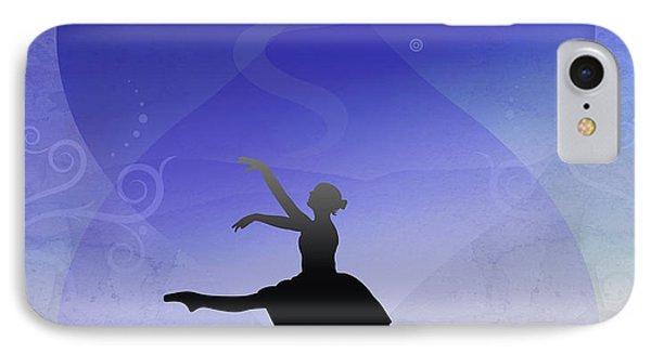 Ballet In Solitude  Phone Case by Bedros Awak