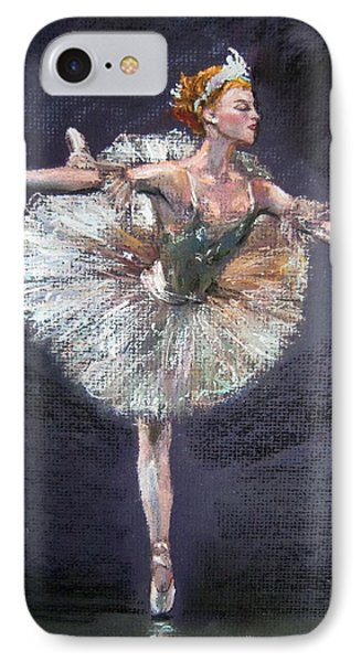 IPhone Case featuring the painting Ballet by Jieming Wang