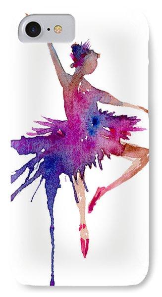 Ballet Retire Devant IPhone Case by Amy Kirkpatrick