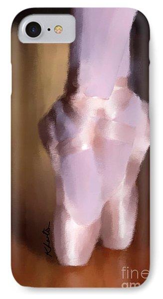 Ballet Slippers 2 Phone Case by Karen Larter
