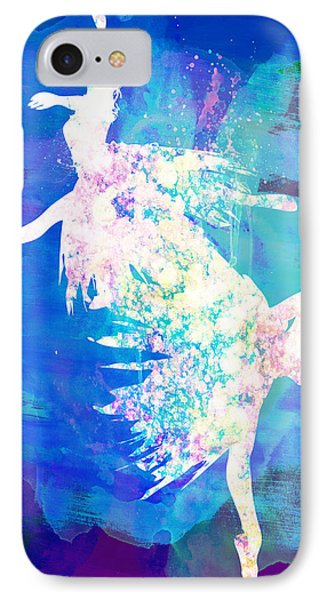Ballet Watercolor 2 IPhone Case