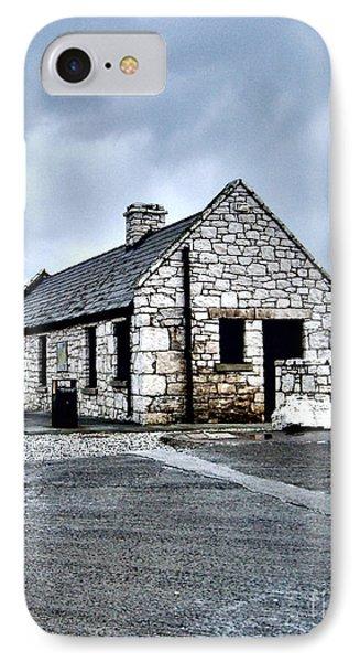 Ballintoy Stone House IPhone Case by Nina Ficur Feenan