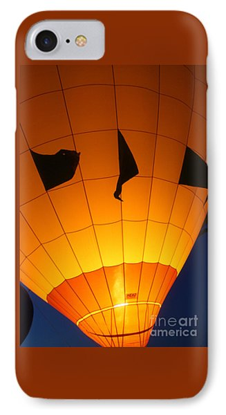 Ballon-glowyellow-7703 Phone Case by Gary Gingrich Galleries