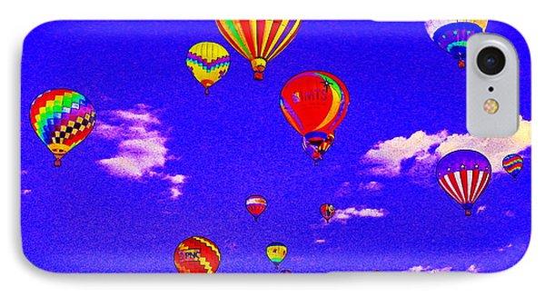 Ballon Race IPhone Case by Mustafa Abdullah