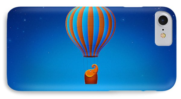 Balloon Elephant IPhone Case by Gianfranco Weiss