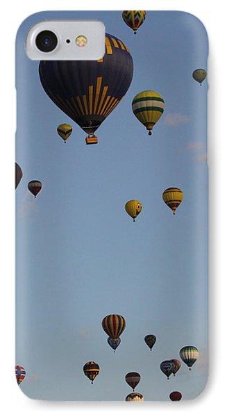 Balloon Festival IPhone Case by Mustafa Abdullah