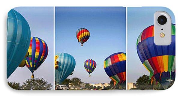 Balloon Festival Panels IPhone Case by Betsy Knapp