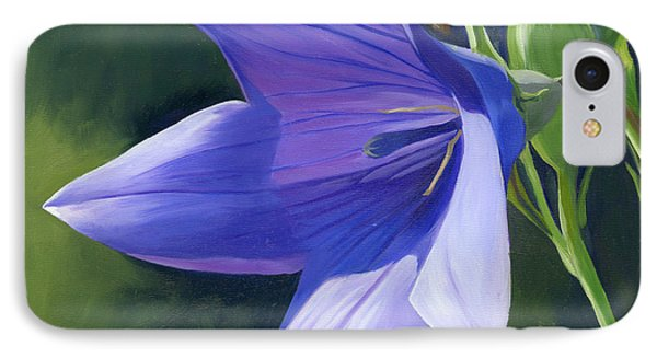 Balloon Flower IPhone Case by Alecia Underhill