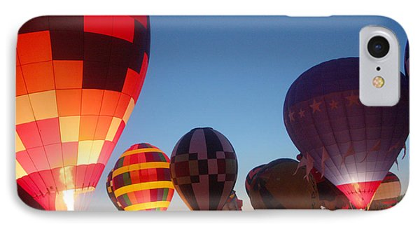Balloon-glow-7783 Phone Case by Gary Gingrich Galleries